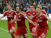 Fussball Relegation, Karlsruher SC - Hamburger SV